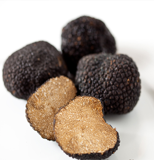 black truffles over fresh pasta pasta strands with black truffle sauce ...