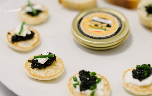 Caviar Cocktail Blini from France
