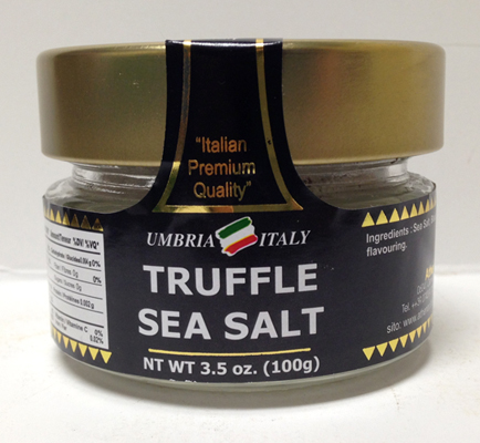 truffle sea salt - la madia regale
